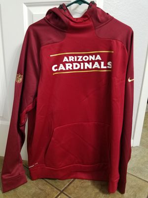 Authentic Arizona, NIKE Xtra Large Thermo Jacket with Hoodie. It's on the NFL.com store for $130. I will sell it for$45. for Sale in Las Vegas, NV