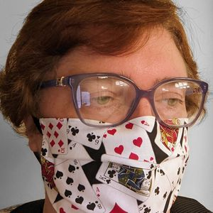 Playing Cards Face Mask for Sale in Glendale, AZ