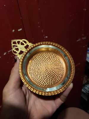 Vintage Copper & glass ashtray by Coppercraft Guild for Sale in Columbus, OH