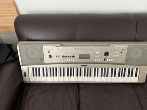 Piano Yamaha ypg-235 with pedal and music stand for Sale in Carlsbad, CA