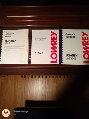 Lowery mx-2 organ for Sale in Holts Summit, MO