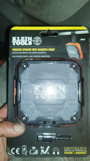Klein tool blue tooth speaker for Sale in San Diego, CA