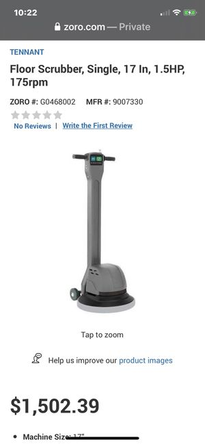 Professional floor scrubber like new for Sale in Westchester, CA