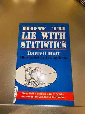 How To Lie With Statistics for Sale in San Antonio, TX