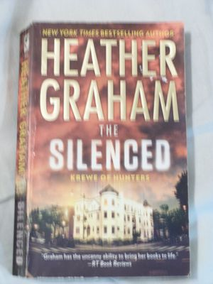 Heather Graham The Silenced Book for Sale in Ripley, WV
