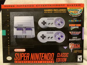 Super Nintendo Classic Mini for Sale in Las Vegas, NV