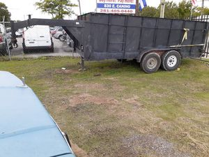 Gooseneck trailer 16x7x4 for Sale in Houston, TX