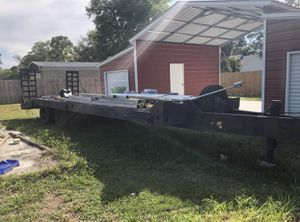35' 2014 Hudson Bros Trailer Equipment Flatbed for Sale in Cocoa, FL