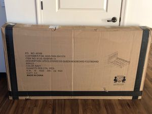 NIB queen size bed frame for Sale in Buffalo, NY