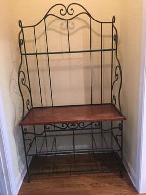 Baker's Rack with glass shelves. for Sale in Franklin, TN