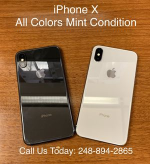 SALE: Unlocked iPhone X 64gb Used All Colors Excellent Condition for Sale in Oak Park, MI