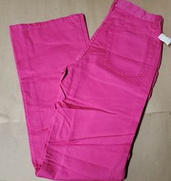 NWT Girl's Gap Pink Flare Jeans Pants Size 12 Slim for Sale in Ravensdale,  WA