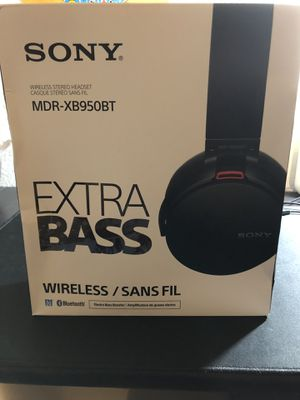 Sony MDR-XB950BT Extra Bass Wireless Headphones. for Sale in Vallejo, CA