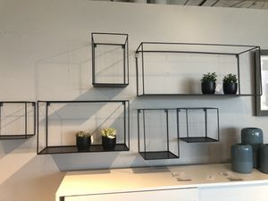 Wall Mounted Black Metal Shelves for Sale in San Diego, CA