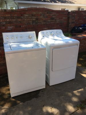Kenmore washer General Electric dryer for Sale in Oklahoma City, OK