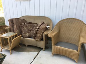 Wicker indoor/outdoor furniture for Sale in Lutherville-Timonium, MD