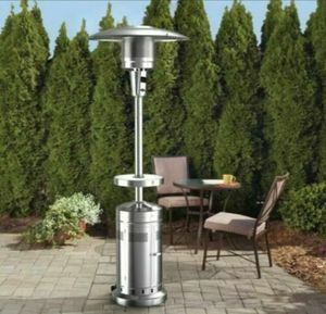 Member's Mark Outdoor Propane Gas Patio Heater with LED Table 47,000 BTUs for Sale in Leonia, NJ