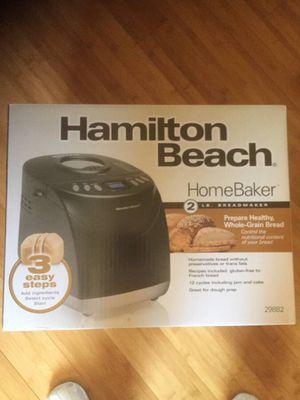 Hanilton Beach bread maker - home baker 29882 for Sale in Tustin, CA