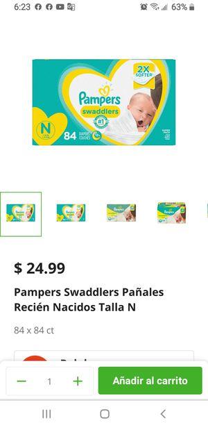 Pampers Newborn one box for Sale in Vista, CA