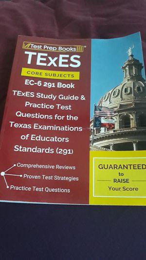 Test Prep Book for Sale in Dallas, TX