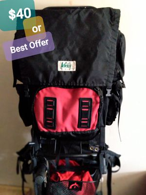 REI ...FRAMED BACKPACK --$40---((OBO Takes It))-has interchangeable Sholder Straps--. Green TRADES ARE CONSIDERED. I'm looking for a SOUNDBAR for Sale in San Diego, CA