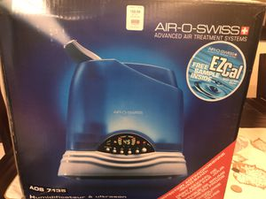 Air-O-Swiss Utrasonic Humidifier model 7135 for Sale in Elk Grove Village, IL