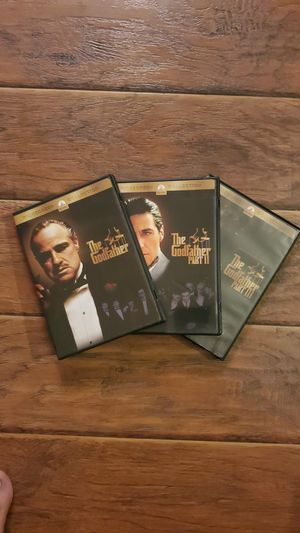 DVDs - The Godfather Trilogy for Sale in San Clemente, CA