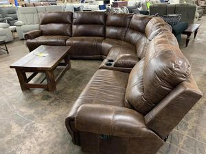 Stella Brown Sectional 🌹🌺Stella Brown Reclining Sectional for Sale in Pflugerville, TX
