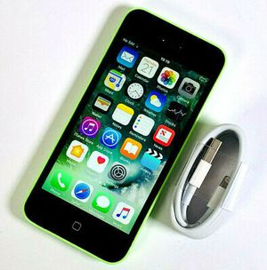 iPhone 5C Factory Unlocked & Usable for Any SIM Any Carrier Any Country. for Sale in Fort Belvoir, VA
