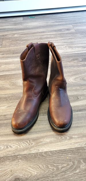 Size 11 Wolverine slip on work boots for Sale in Tacoma, WA