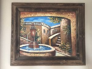 Mexican oil painting for Sale in East Los Angeles, CA