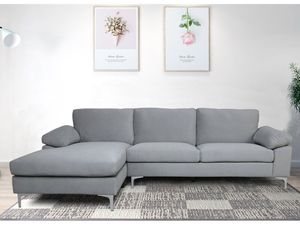 Grey sectional couch for Sale in Nashville, TN