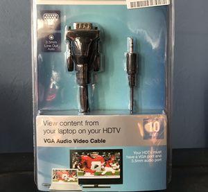 VGA Audio Video Cable for Sale in Salem, VA