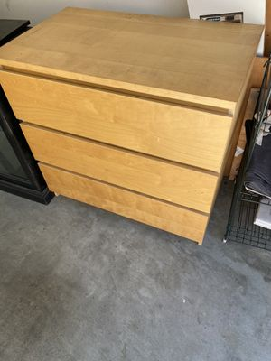 IKEA 3 Drawer Dresser for Sale in Ontario, CA