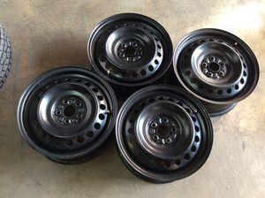 "Set of 16"" Black Subaru Impreza Wheels / Rims for Sale in Sheridan, CO"