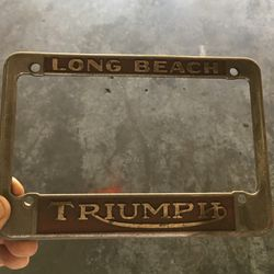 Motorcycle License Plate Frame for Sale in Long Beach,  CA