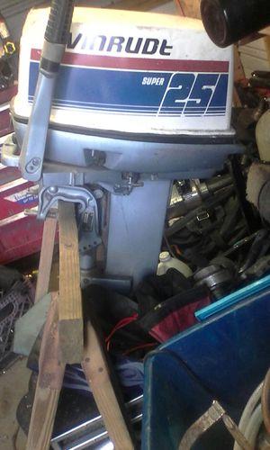 Evenrude 25hp boat motor for Sale in Lakeland, FL