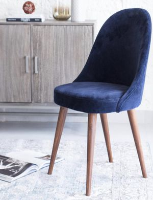 Willow Navy Blue Accent Chair by Madeleine Home for Sale in Charlotte, NC