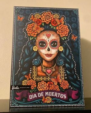 *NEW* RARE Dia De Los Muertos (Day of The Dead) Barbie Doll Rare Hard To Find Limited Collectable! for Sale in Chester, NJ