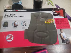 Health O Meter HM8553 Half Back Cushion Massager with Two Motors for Sale in Mukilteo, WA