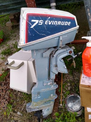 1984 JOHNSON 7.5 HP 2-stroke for Sale in North Miami, FL