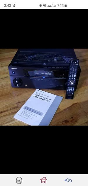 Pioneer Audio/Video Multi-Channel Receiver VSX-9040TXH for Sale in Lincoln Park, NJ