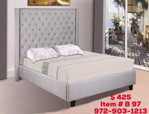 Bed with mattress free delivery available for Sale in Dallas, TX