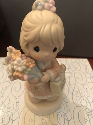 """Precious Moments """"It's time to bless your own day"""" figurine for Sale in Woodstock, GA"""