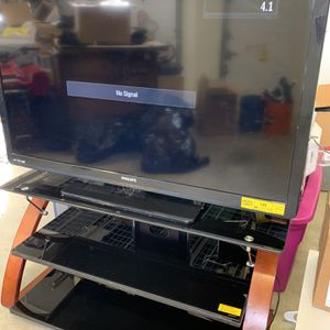 50 Inch Phillips TV and TV Stand for Sale in Bonney Lake, WA