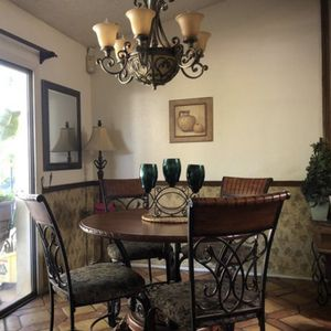 Dining table and 4 chairs, more 3 Barstools for Sale in Mesa, AZ