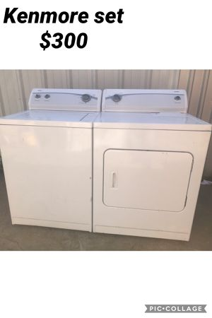 Kenmore set for Sale in Dallas, TX