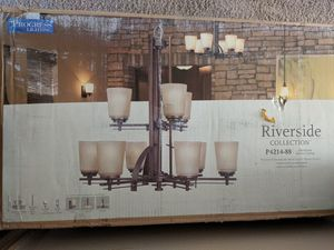 Riverside Collection two tier chandelier, new in box. for Sale in Port Orchard, WA