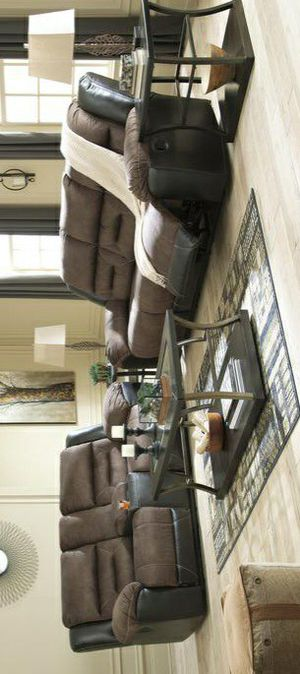 🍀In stock new brand/Chestnut Reclining Living Room Set 🔥Summer Sale🔥🍃HAYAL🙋‍♂️ for Sale in Columbia, MD