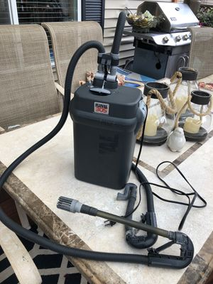 Fluval 305 filter canister + aquarium accessories for Sale in Wood Village, OR